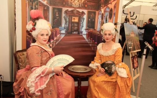 Značka Západočeské baroko se prezentovala na veletrhu Holiday World 2017, lákadlem byly i Karty hraběnky Lažanské