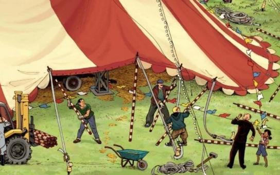 Bez práce prý nejsou koláče. Jenže co kdo vlastně v tom obrovském okolním světě dělá? A jak to chodí třeba v cirkusu?
