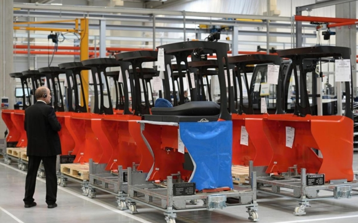 Ve Stříbře roste nový závod na výrobu dopravníkových systémů. V průběhu roku přinese regionu 200 nových pracovních míst