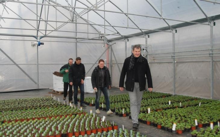V kotelně znojemského zahradnictví Městské zeleně už topí. Své brány otevřou koncem března