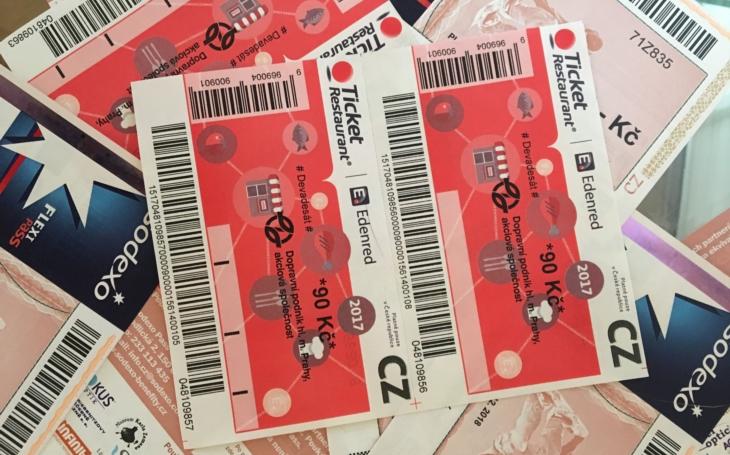 Papírové stravenky jsou v dnešní době již přežitek, budoucnost patří elektronickým platbám