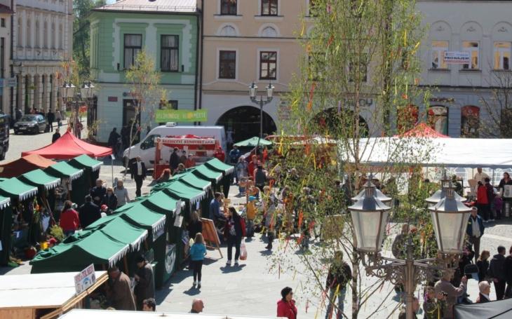 Ve Frýdku-Místku vyroste Velikonoční městečko. Náměstí Svobody ožije na tři dny zábavným programem
