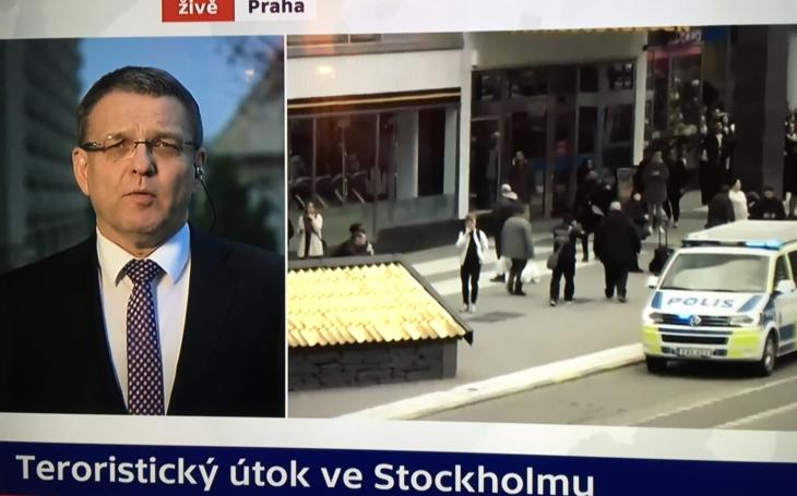 Trapas ministra Zaorálka, právě teď na obrazovkách ČT. První muž české diplomacie neumí správně vyslovit Stockholm