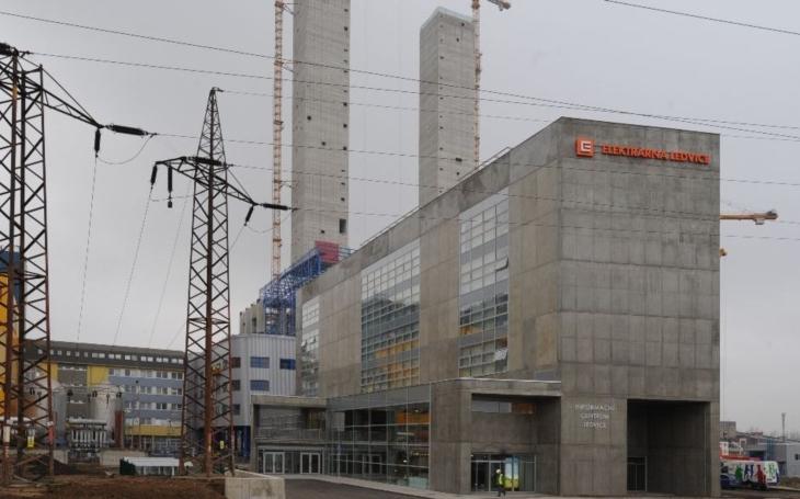 Ledvice jsou nejmodernější elektrárnou ČEZ. Na rekonstrukci se podílela i severočeská stavební společnost Klement