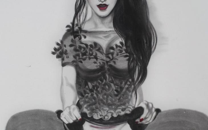 Květiny v moři zla. Nová výstava malíře Jiřího Straky, inspirovaného čínským uměním i postmodernou, nenechá nikoho v klidu