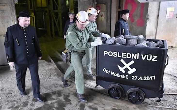 V dole Rožná byl vytěžen poslední vůz uranové rudy.  Skončila tak šedesátiletá éra těžby v oblasti Dolní Rožínky
