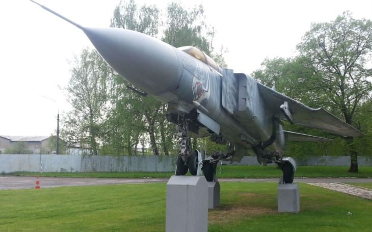 Nejdéle sloužící stíhačka, MiG-23 Tygr, bude nadále vítat cestující i návštěvníky při vstupu na českobudějovické letiště