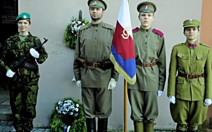 Valašské Meziříčí si připomnělo prezidenta Masaryka i legionáře Leopolda Pospíšila, který padl v bitvě u Zborova