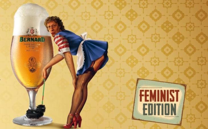 Feministky nás zavřou do trezoru. Pivovarník ´má koule´. Zase zlobí; genderdámy vytočil do ruda. Aféra si už žije vlastním životem a baví internet