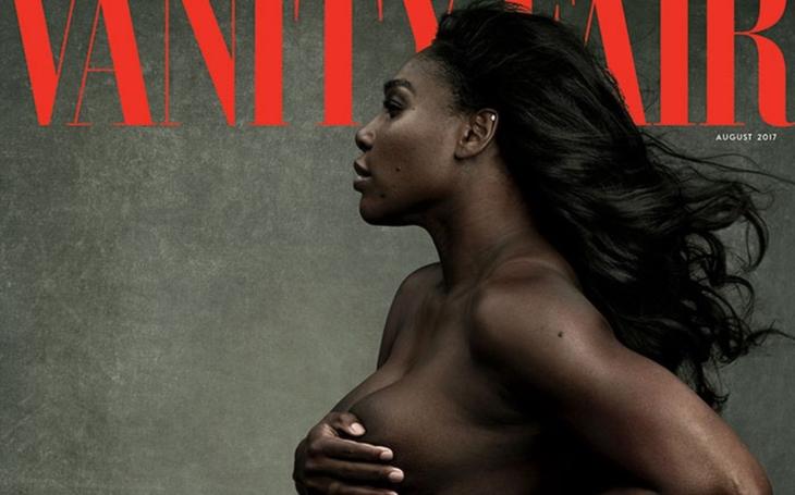 Prý nechutné. Slavná tenistka se objevila nahá a těhotná na titulu prestižního společenského magazínu. Sklidila spíše posměch