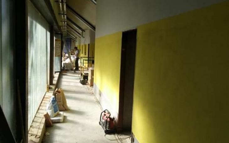 Vsetínský Lapač prochází rekonstrukcí.  Hokejisté přesto vyjedou na led, čeká je další sezóna