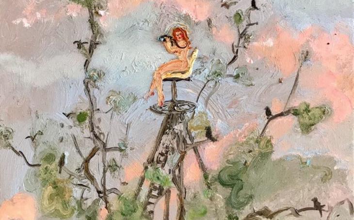 Šťavnaté snění a intimita v každém slova smyslu… Na půdu Nové galerie se malířka Katarína Janečková Walshe vrací již po druhé