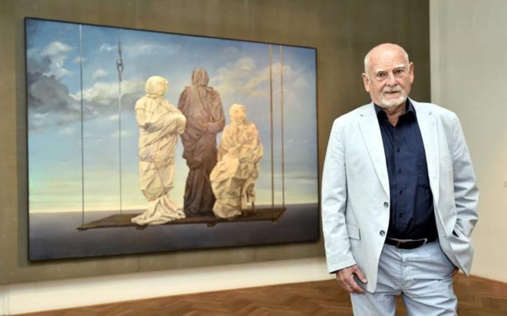 Šálení smyslů a zkoumání pravdy… Město Zlín se rozloučí s obrazy oscarového tvůrce Theodora Pištěka