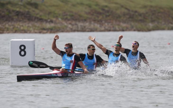 Po stříbru přišlo zlato… Mistrovství světa v rychlostní kanoistice v Račicích bylo pro Čechy úspěšné. Z vody vylovili šest medailí