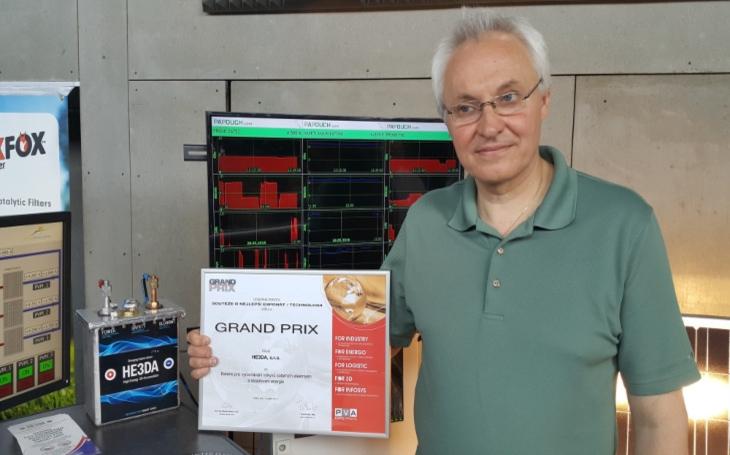 1 miliarda investic. Revoluční výroba baterií HE3DA, český patent, český vynález a česká výroba, změníme svět, zní z Havířova