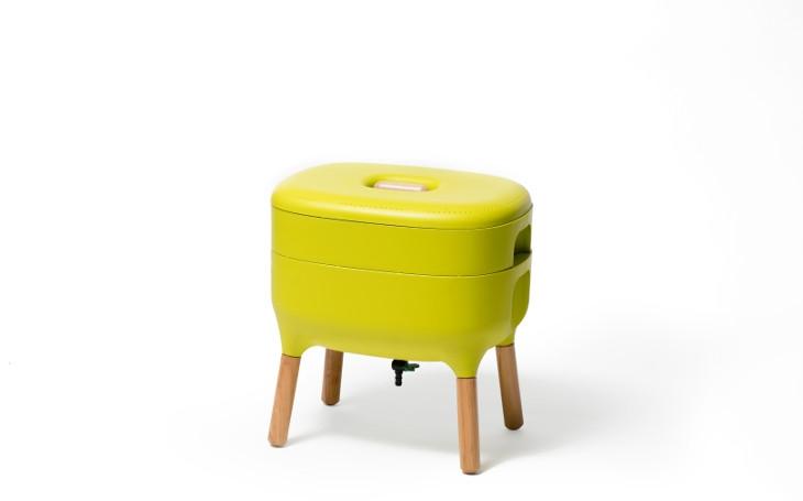 Plastia vyhrála mezinárodní cenu za revoluční design domácího kompostéru. Na Designbloku si můžete dojít pro inspiraci