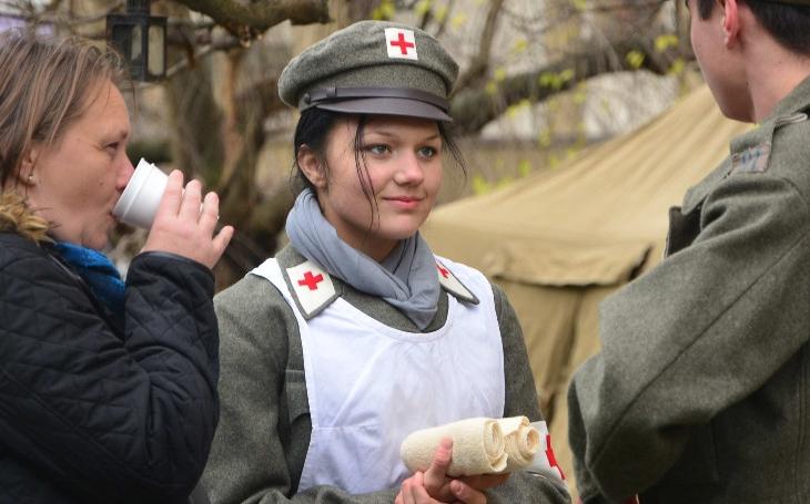 """FOTO První světová válka – léta zkázy a bolesti. Vernisáž výstavy o """"velké válce pojal kraj jako velkou událost"""