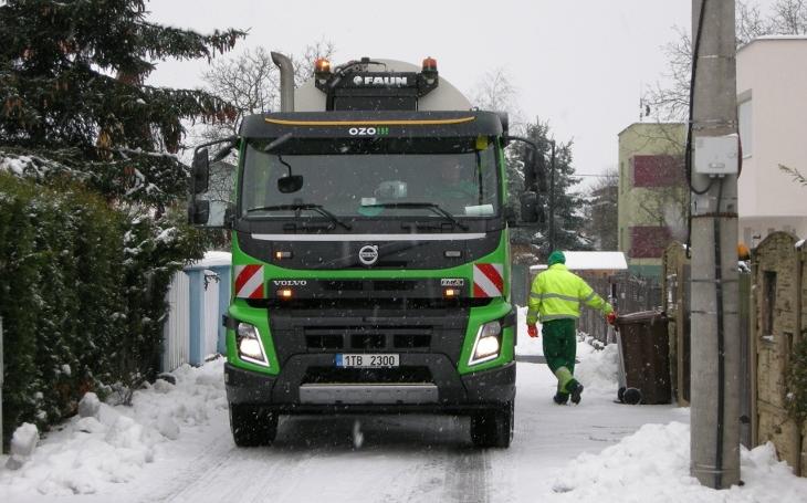 To by potřebovala i Praha. V Ostravě budou bioodpad svážet i v zimě, zájem o BIO popelnice neustále vzrůstá