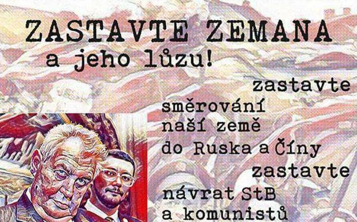 Voláme Zemanovu lůzu, zastavme českou inteligenci. Komentář Štěpána Chába