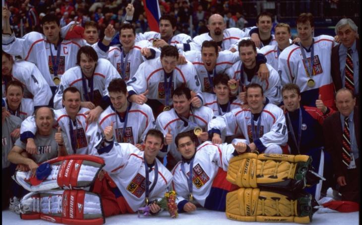 Výběr hvězd NHL proti Jágrovi a 18 neznámým klukům, psali Amíci tehdy. Vzpomínka na zlaté Nagano