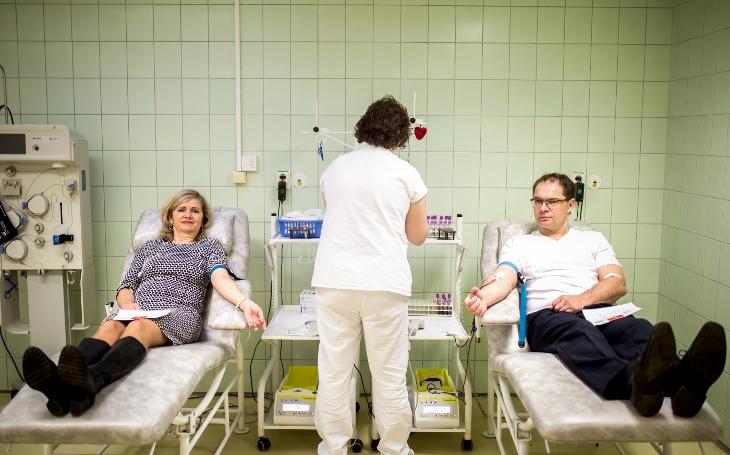 Na Valentýna darovat krev? Láska protékala pardubickou nemocnicí. Přišlo osm nových dárců