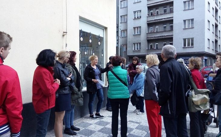 Komunitní život se na Praze 7 rozjíždí hlavně díky nadšení studentů a pedagogů Vyšší odborné školy cestovního ruchu