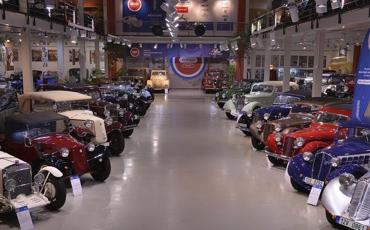 Od začátku dubna se znovuotevře Veteran Arena. Výstava nádherných předválečných automobilů v Olomouci