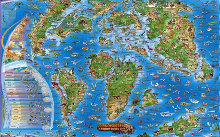 RECENZE Zkoumali jsme mimořádně povedené mapy pro děti