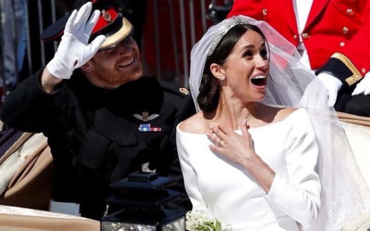 Královská svatba: Záhada toulavé vlečky a láska, co nejde ukrást. Komentář Anny Vančové