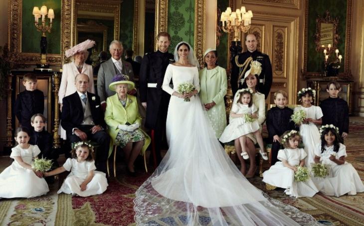 Rekordní a revoluční královská svatba? Drtivá část Čechů ji ignorovala. Víc je zajímají Televizní noviny a politika