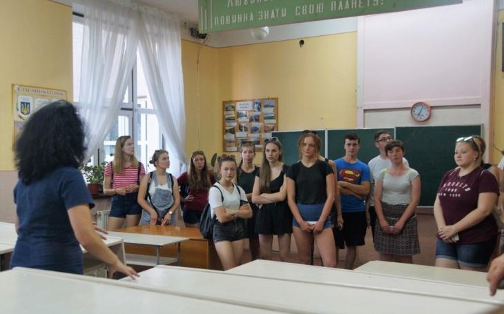 Studenti z kraje putují po stopách T. G. Masaryka na Podkarpatské Rusi