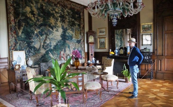 Hejtman Netolický na cestách: Rekonstrukce za více než 110 milionů korun vrátí slatiňanskému zámku původní ráz