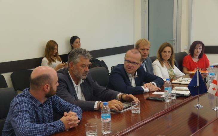 Pardubický kraj podepíše s gruzínskými partnery memorandum o spolupráci. Inspirace a učení může být vzájemné