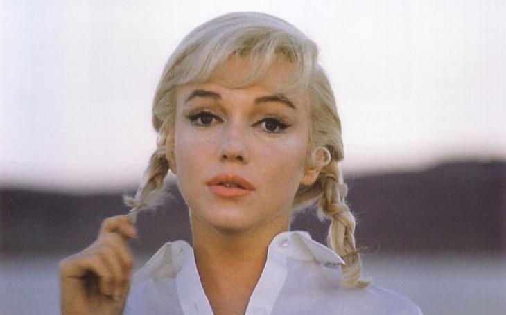 Snímek slavné fotografky ukazuje nefalšovaný smutek vočích Marilyn Monroe. Sobota Pavla Přeučila