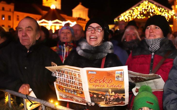 Báječná akce ´Česko zpívá koledy´ se koná i letos. Jen na Vysočině se již přihlásilo 36 měst, městeček a obcí