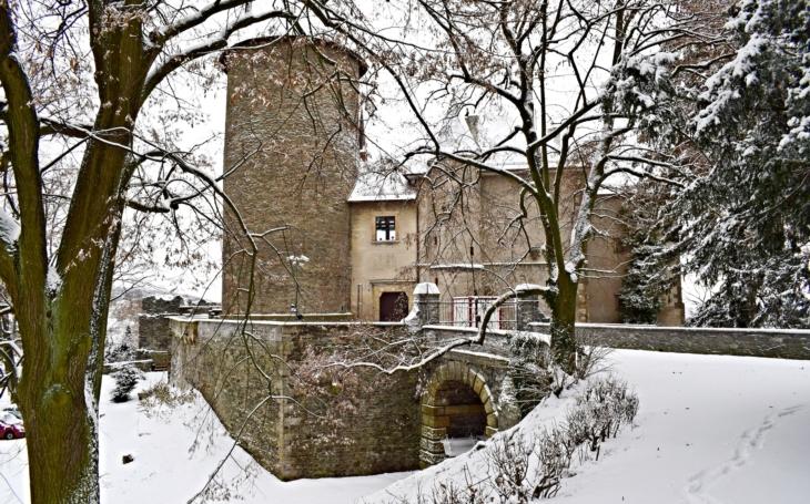 Přilákali ministra a čekají love… Hrad Šternberk dostane padesát milionů; opraví i 13 historických kachlových kamen