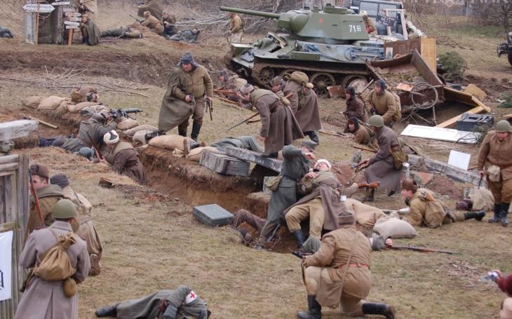 Tuhý mráz a zuřivý odpor esesáků, tak probíhala na Vánoce 1944 krvavá bitva o Budapešť. Army Park ji letos připomene