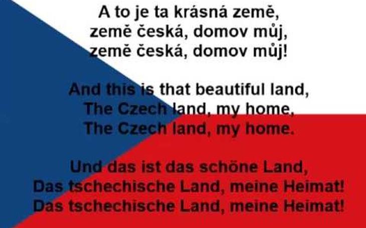 Znát státní hymnu je přímo povinnost. Nejde jen o slova a melodii, ale také její historii
