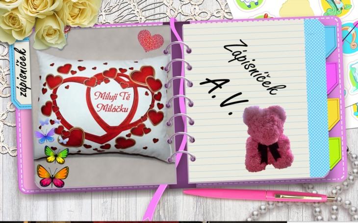 Ten nejhnusnější Valentýn, jakého si umíte představit. Zápisníček A.V.