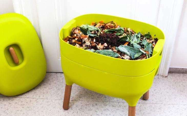 Kdo má ´zelené srdce´, kompostuje. A kdo ho má ještě zelenější, pořídí si vermikompostér