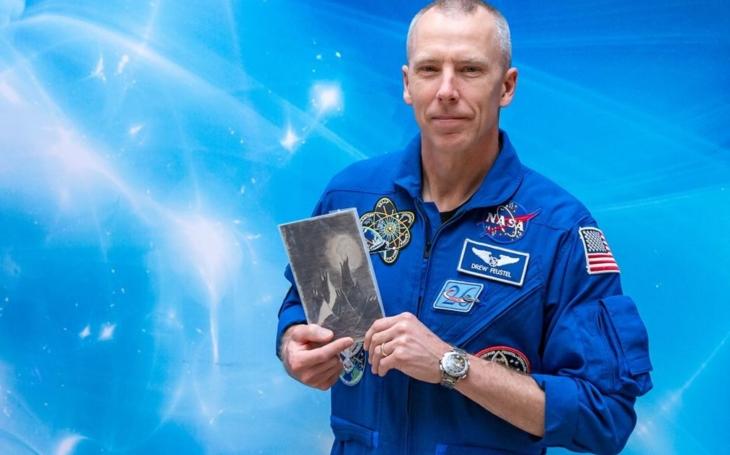 Krtek nám sloužil jako indikátor stavu beztíže… Americký astronaut Andrew Feustel byl na návštěvě v Česku