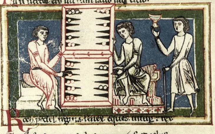 Hazard kvetl i ve středověku, nic nového pod sluncem. A církev se mohla zjančit… Středověké hry ožily v Jihlavě