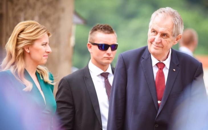 Smutná konfrontace mezi českým prezidentem a novou slovenskou hlavou státu. Komentář Adély Hofmanové