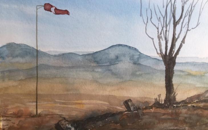 Ponořit se do svobodných snů s akvarely Jany Švástové v Galerii Prádelna...