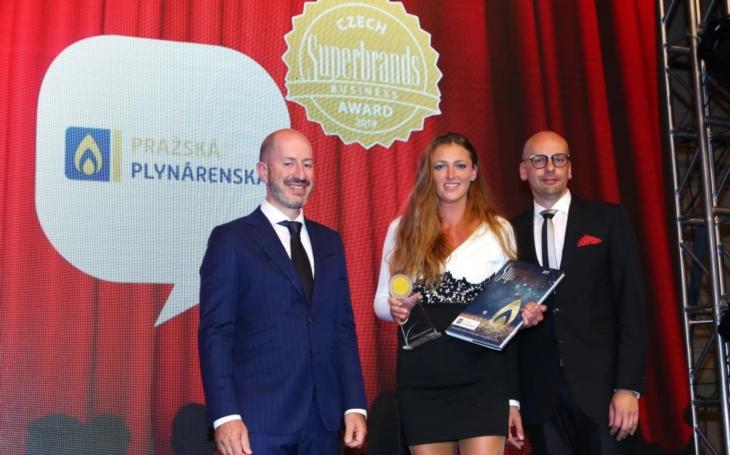 Pražská plynárenská obhájila prestižní ocenění