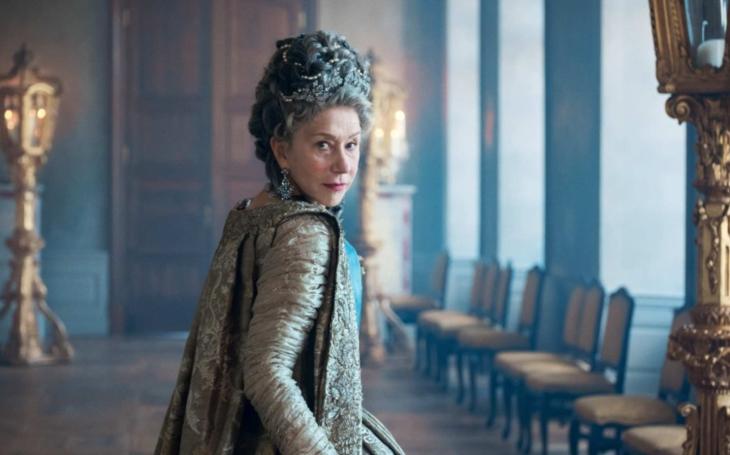 Čtyřiasedmdesátiletá Helen Mirren jako sexuální dračice Kateřina Veliká plus další horké seriálové novinky. Premiéry Pavla Přeučila