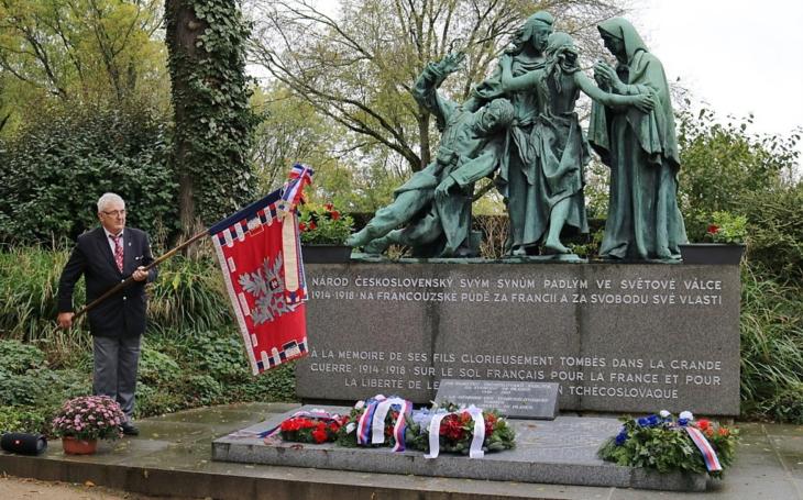 Odkaz československých legionářů ve Francii přežívá i 101 let po vzniku samostatného státu