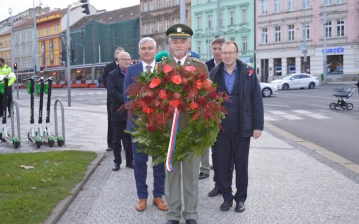 Vzpomínková akce ke dni válečných veteránů a obětí válek na Praze 5