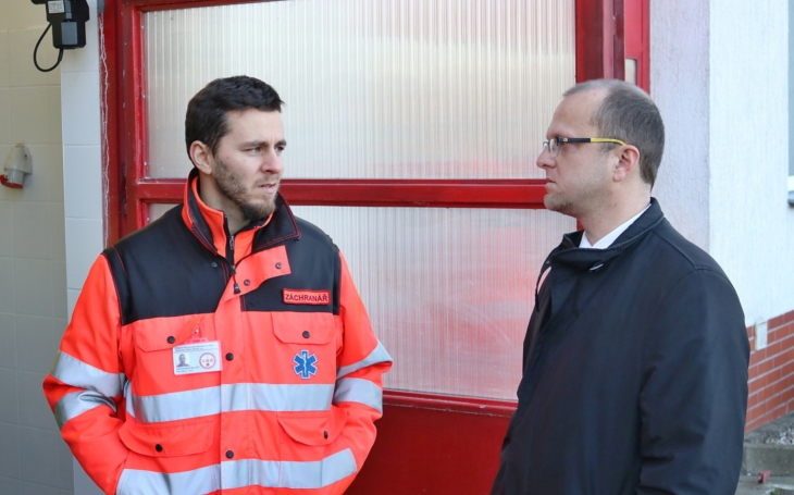 Seč má vlastní výjezdovou stanici záchranky. Ta se v roce 2022 přesune do samostatných prostor