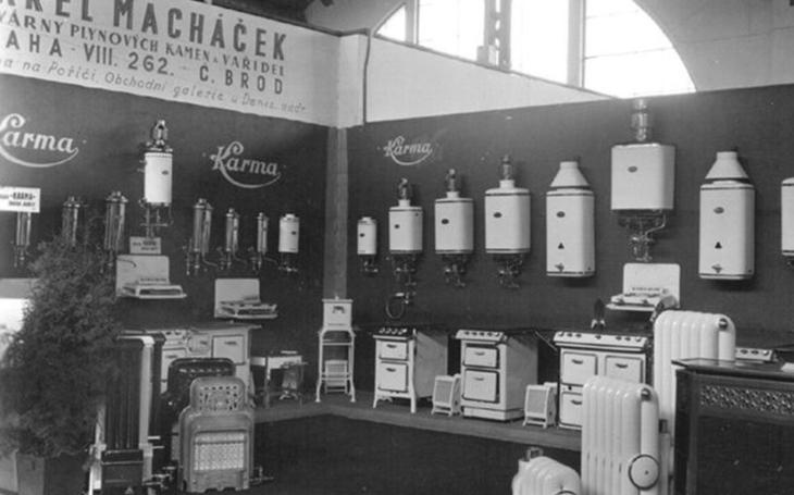 Víte, kdy byl u nás vyroben první plynový spotřebič? Mnohem později, než bylo v ostatních zemích běžné
